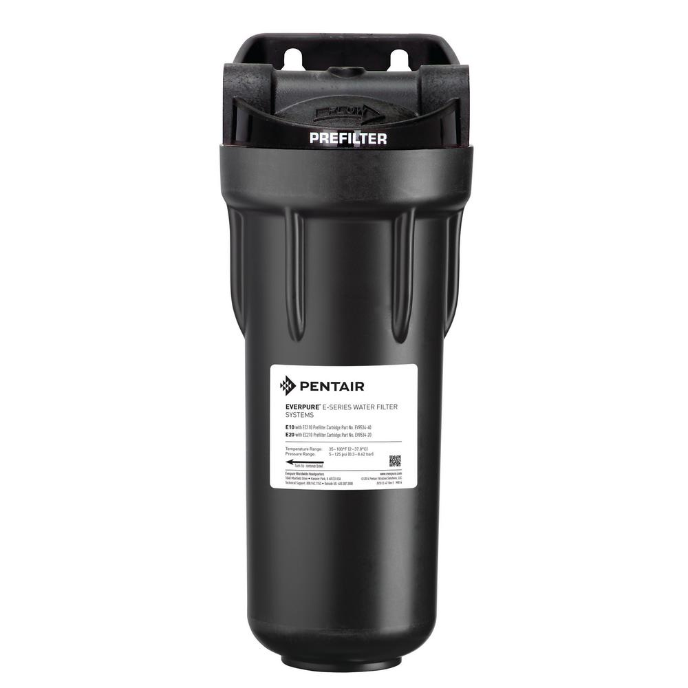 Everpure Commercial 10 in. Pre-Filtration Water Filtration System
