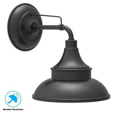 Black Barn Light Outdoor Wall Mount Sconce
