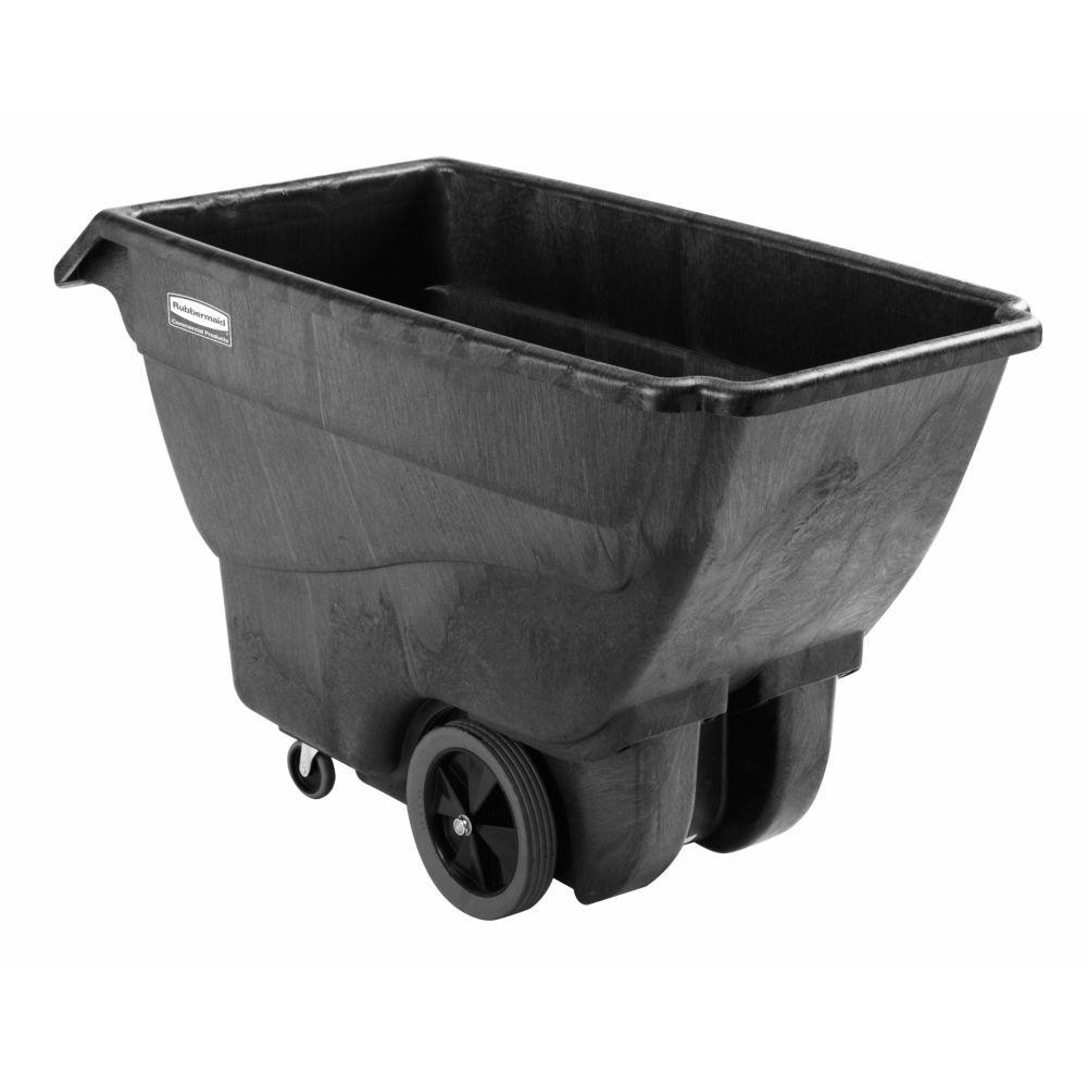 Rubbermaid Executive Series 3/4 cu. yd. Tilt Truck with Q...