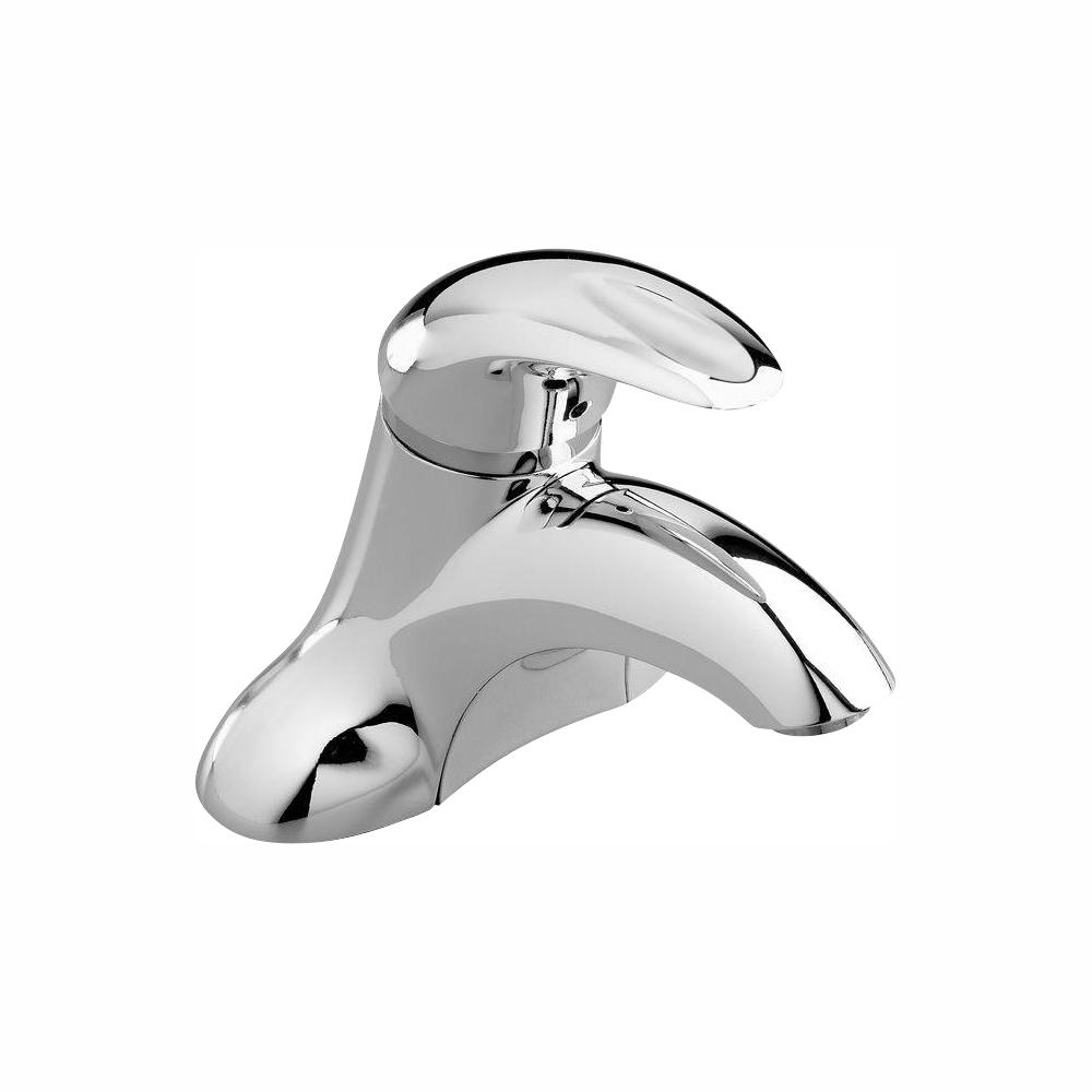 American Standard Reliant 3 4 in. Centerset Single-Handle Bathroom Faucet in Polished Chrome Less Drain and Pop-Up Hole
