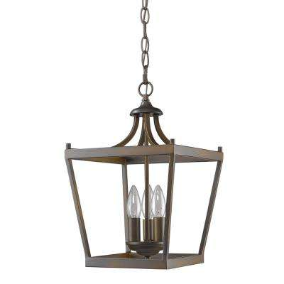 Kennedy 3-Light Indoor Oil Rubbed Bronze Chandelier