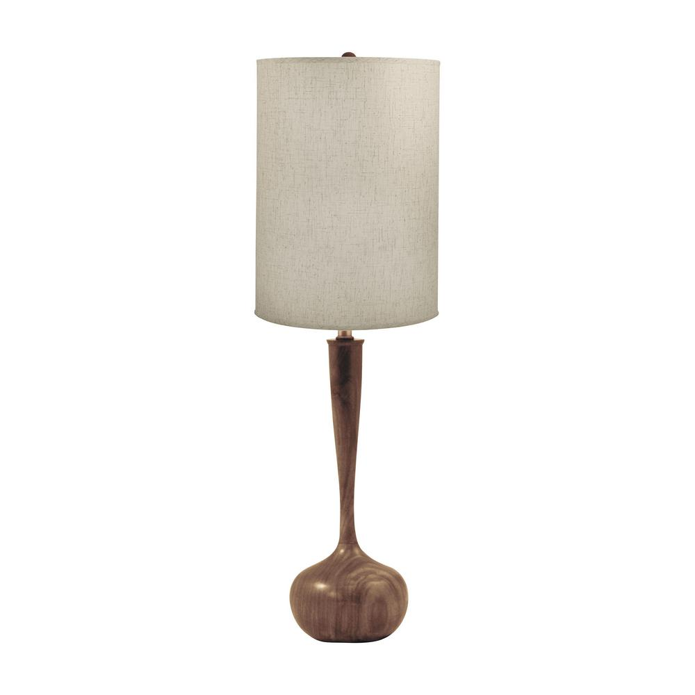 Wooden Tulip Table Lamp