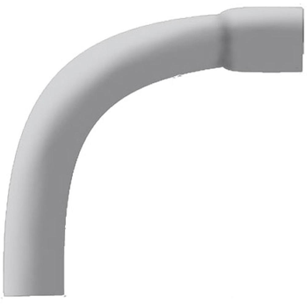 null 2-1/2 in. 90-Degree Bell-End Elbow