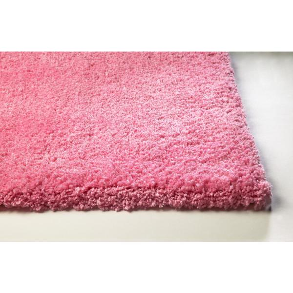Hot Pink 8 Ft X Round Area Rug