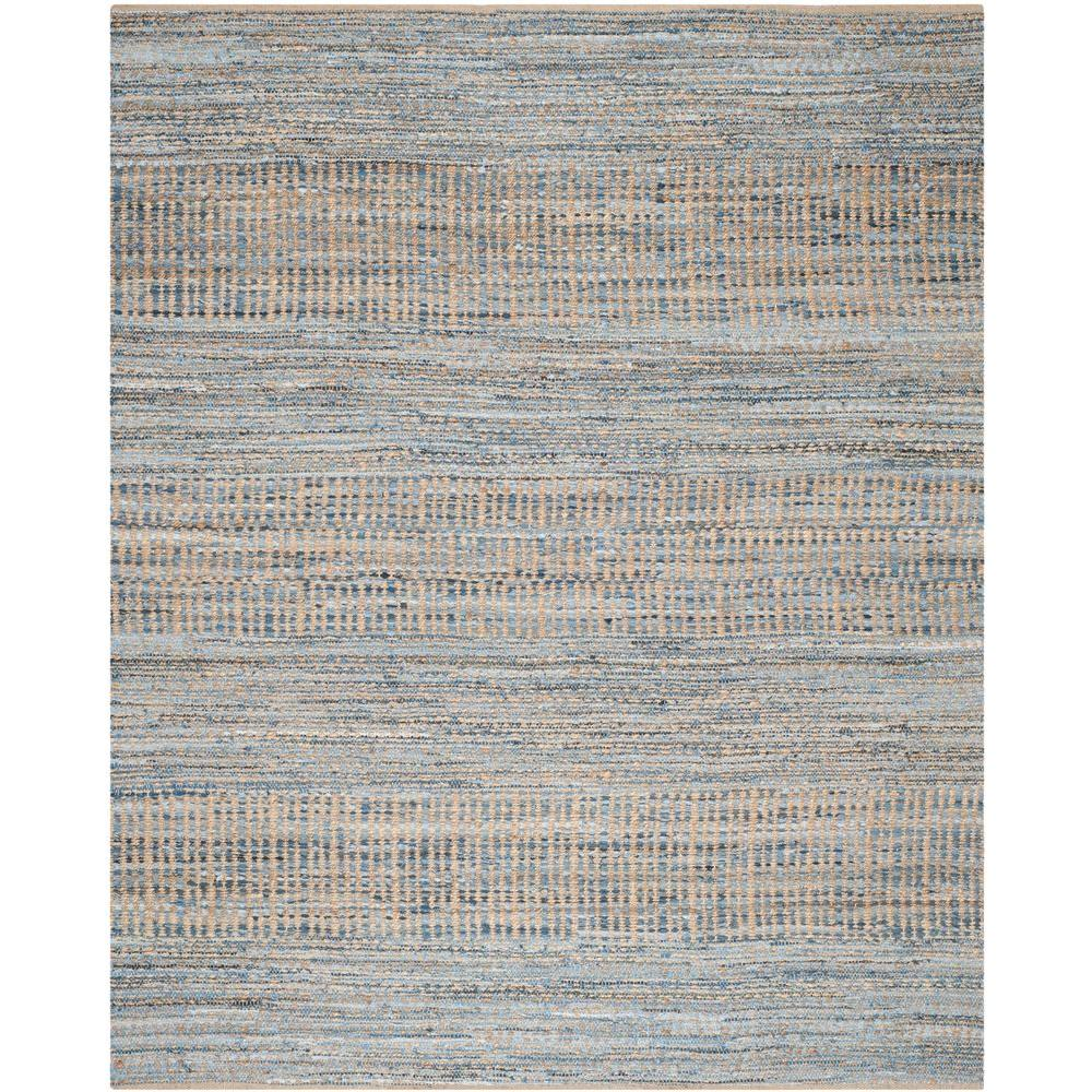 Safavieh Cape Cod Natural Blue 8 Ft X 10 Area Rug