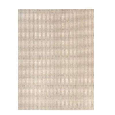 Messina Beige 9 ft. x 12 ft. Indoor/Outdoor Area Rug