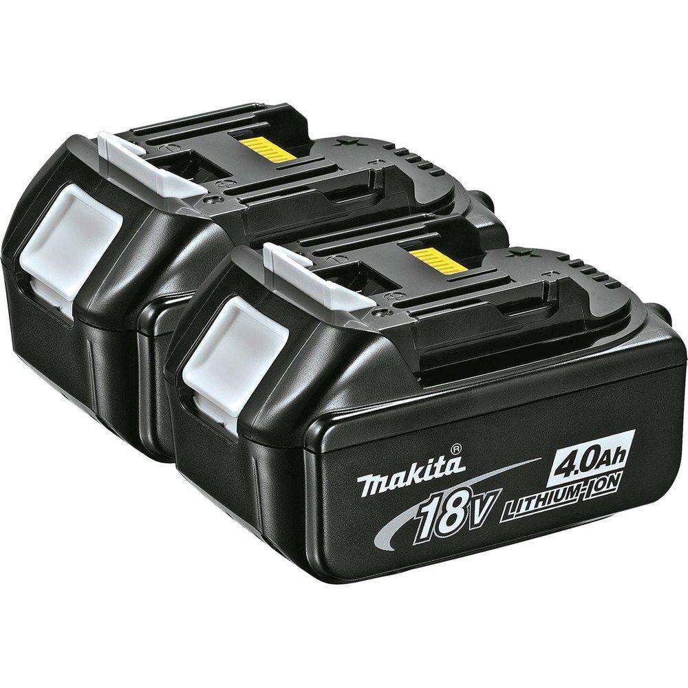 Makita 18-Volt LXT 4.0Ah Lithium-Ion Battery (2-Pack)
