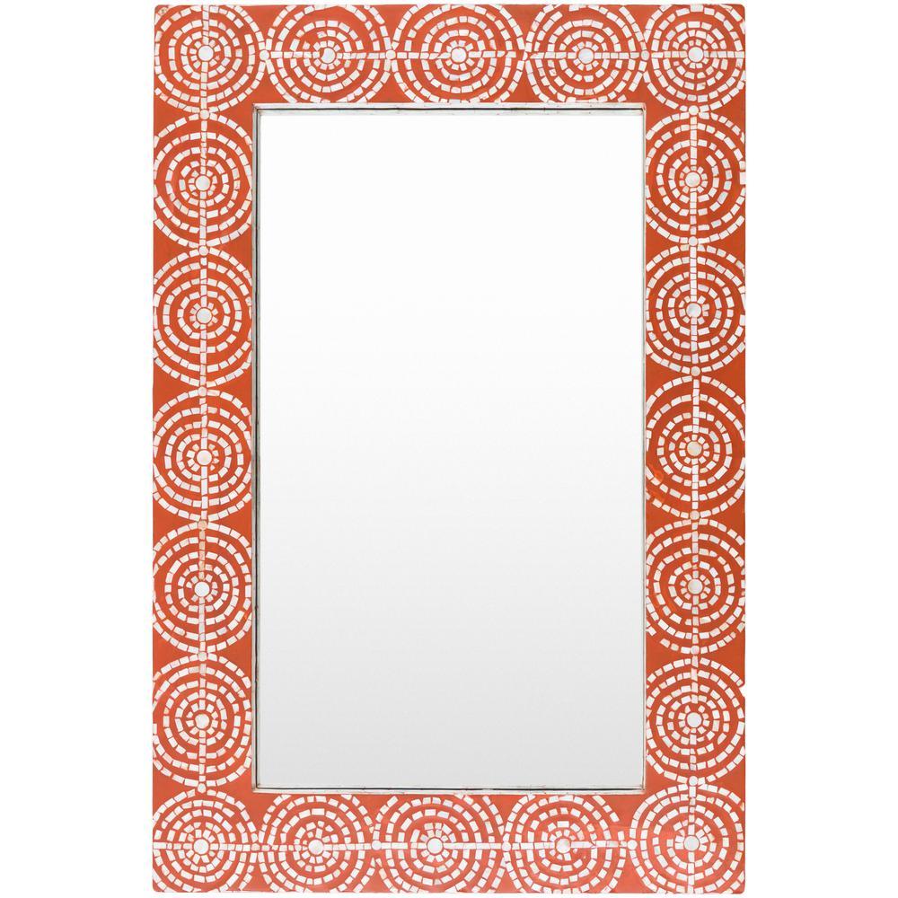 Iyanna 36 in. x 24 in. MDF Framed Mirror