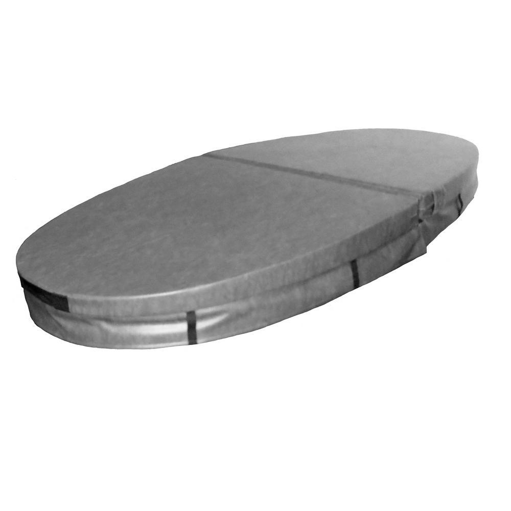 QCA Spas 90.25 in. x 41.25 in. Hard Hot Tub Cover for Model 0 Capri