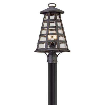 Benjamin 4-Light Outdoor Vintage Iron Post Light