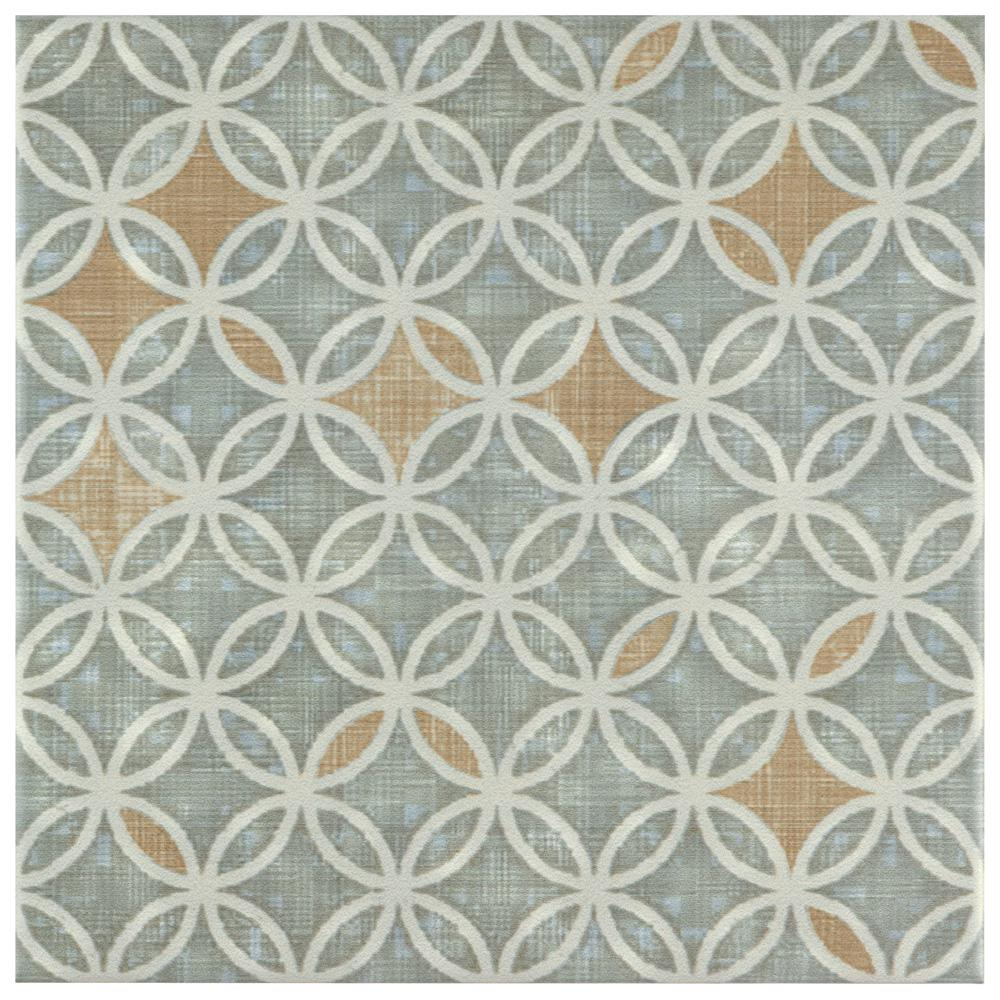 Boheme Full 7-3/4 in. x 7-3/4 in. Ceramic Floor and Wall