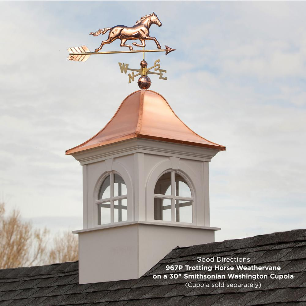 Good Directions 401AL Adjustable Aluminum Weathervane Roof Mount Pack of 2