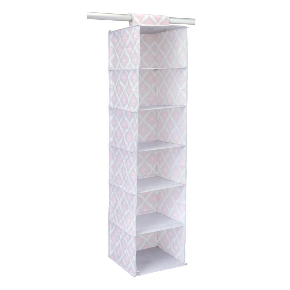 12 in. x 12 in. x 46 in. 6 Shelf Hanging