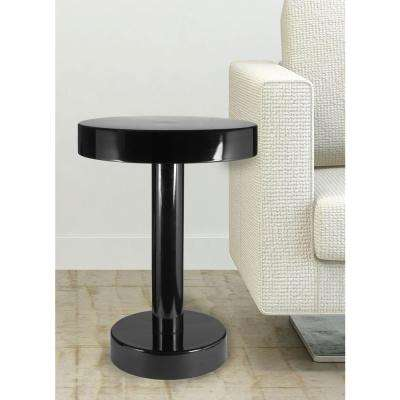 Weldon Black Powder Coated End Table