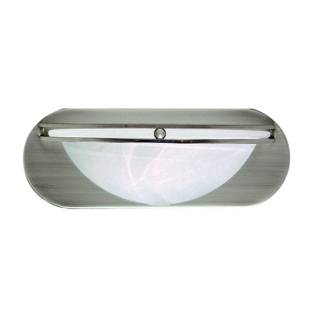 Monument 1-Light Brushed Nickel Bath Light was $31.75 now $25.0 (21.0% off)