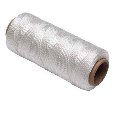 #18 x 225 ft. Polypropylene Twisted Mason Twine, White