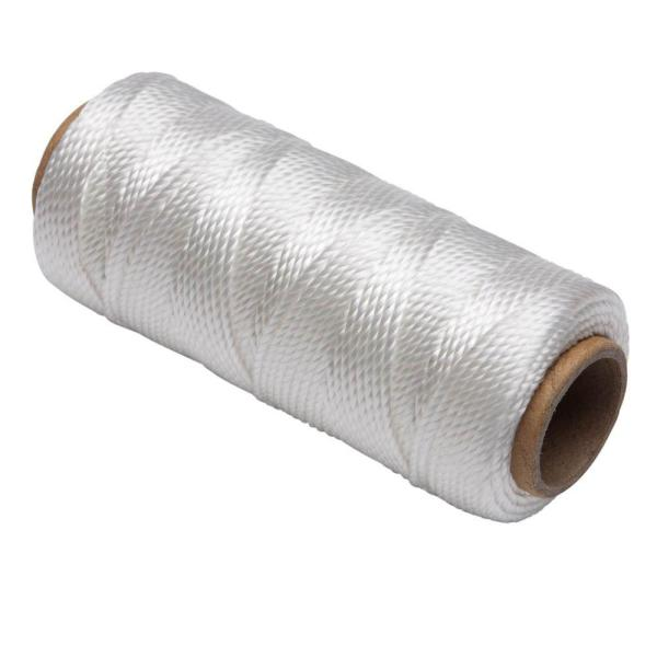 #18 x 325 ft. Polypropylene Twisted Mason Twine, White