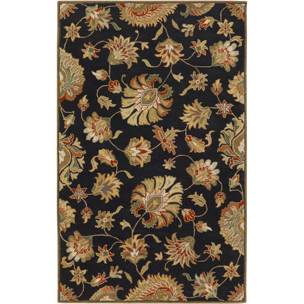 John Black 5 ft. x 8 ft. Area Rug