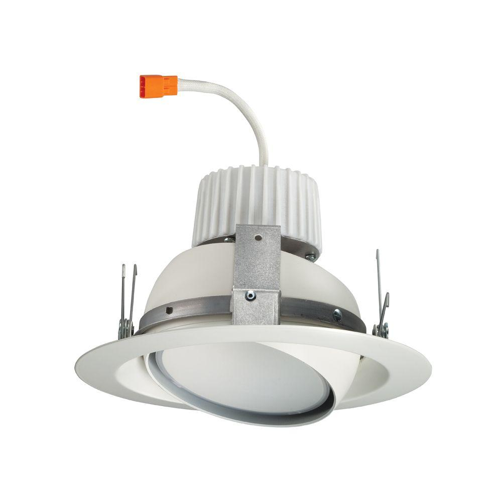 Juno 6 in. White Recessed LED Eyeball Retrofit Trim Module-J6RLE G4 09LM 27K 90CRI 120 FRPC WH - The Home Depot  sc 1 st  The Home Depot & Juno 6 in. White Recessed LED Eyeball Retrofit Trim Module-J6RLE ... azcodes.com