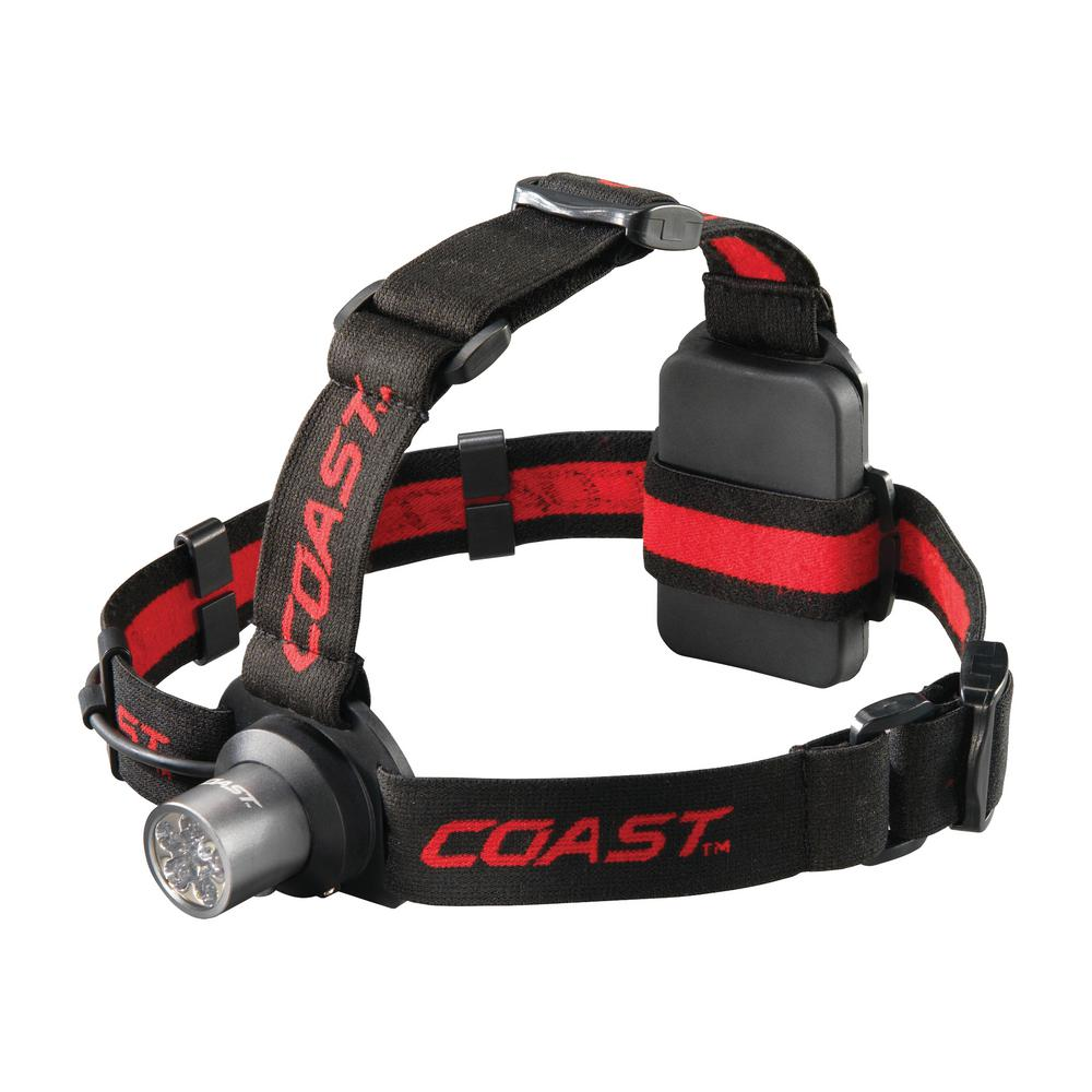 Coast HL5 6 Chip LED Headlamp