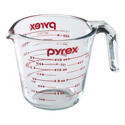 Prepware 2-Cup Measuring Cup with Red Graphics