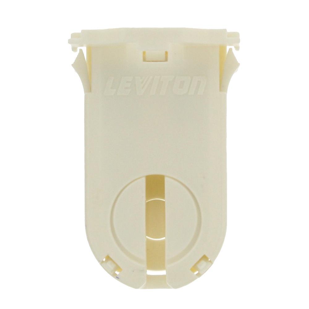 Leviton 660w Tall Profile Medium Bi Pin Lamp Center For T