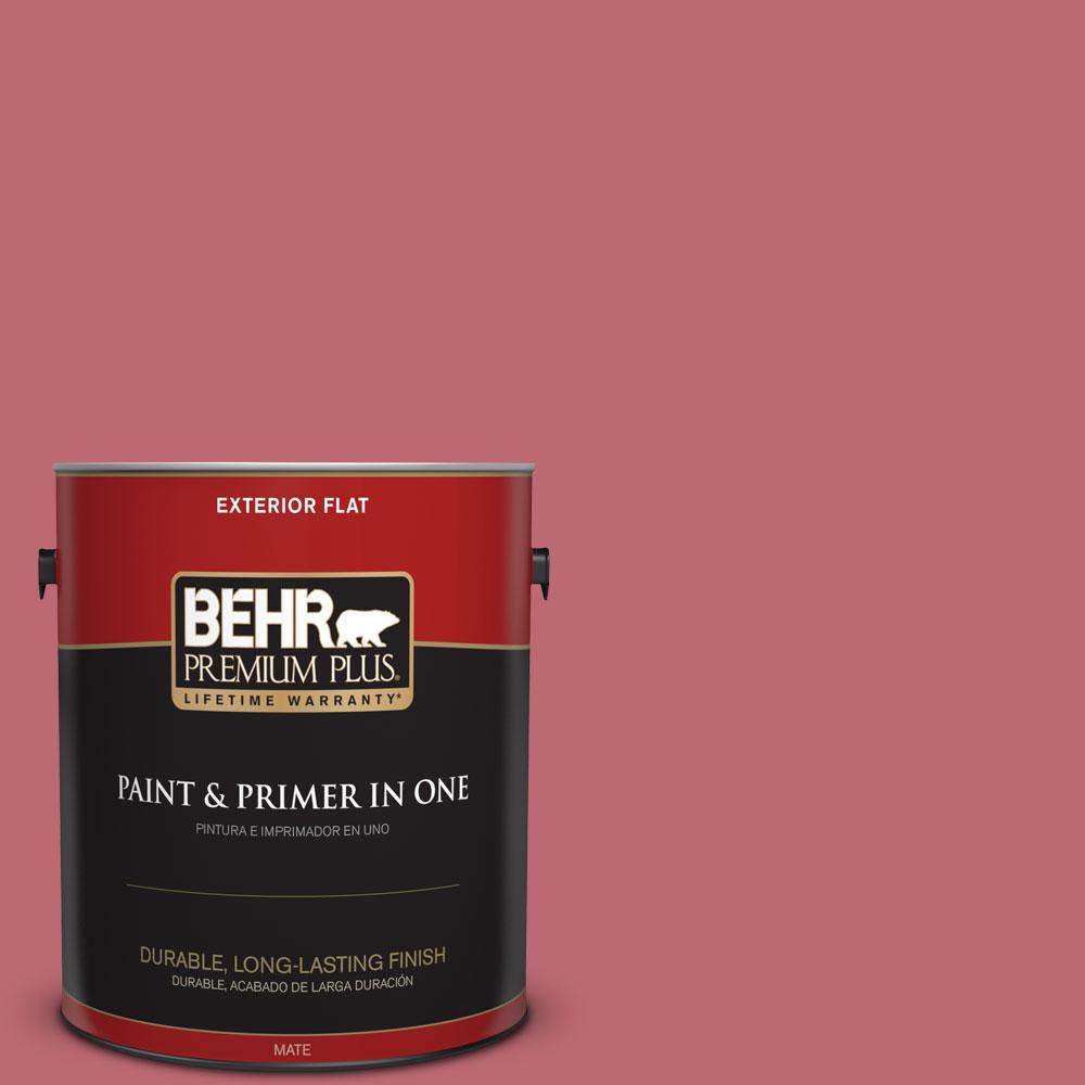 1-gal. #M140-5 Cherry Fizz Flat Exterior Paint