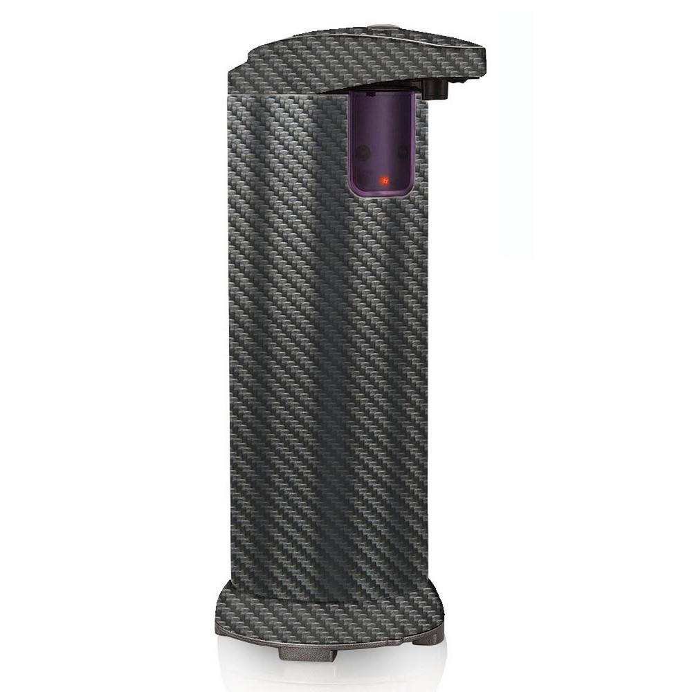 Countertop Automatic Hands Free Soap and Lotion Dispenser in Carbon Fiber