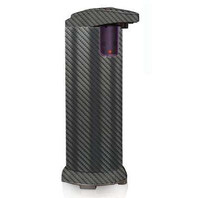 Countertop Automatic Hands Free Soap and Lotion Dispenser in Carbon Fiber Design