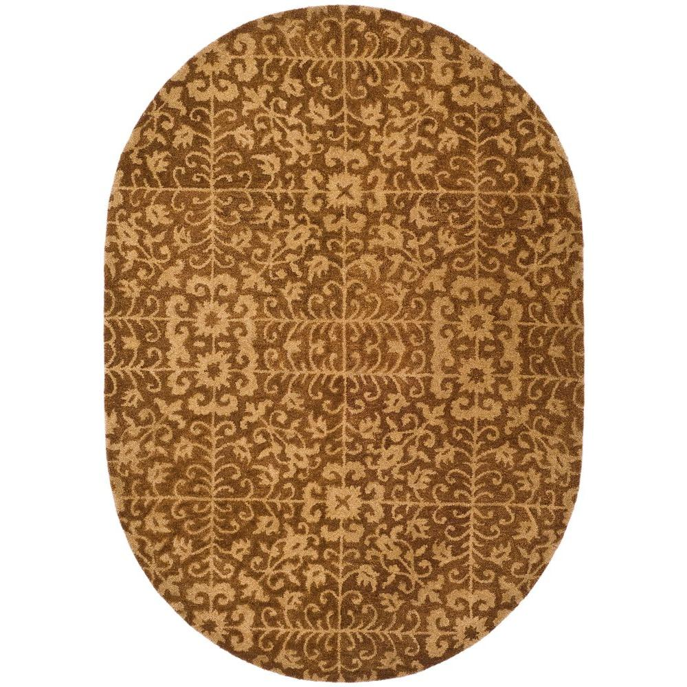 Antiquity Gold/Beige 7 ft. 6 in. x 9 ft. 6 in.