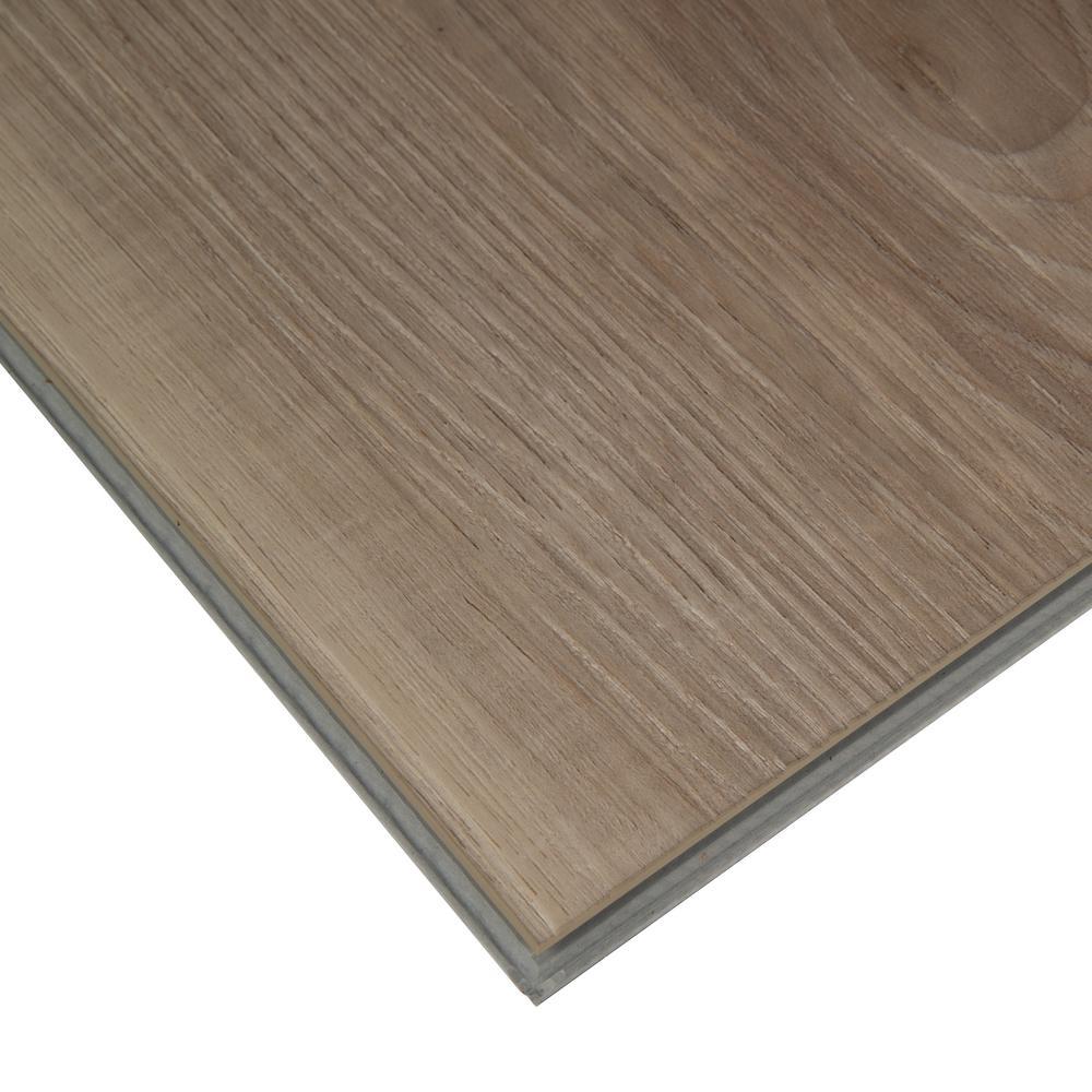 Piedmont Albemarle Ash 7 in. x 48 in. Rigid Core Luxury Vinyl Plank Flooring (23.8 sq. ft. / case)