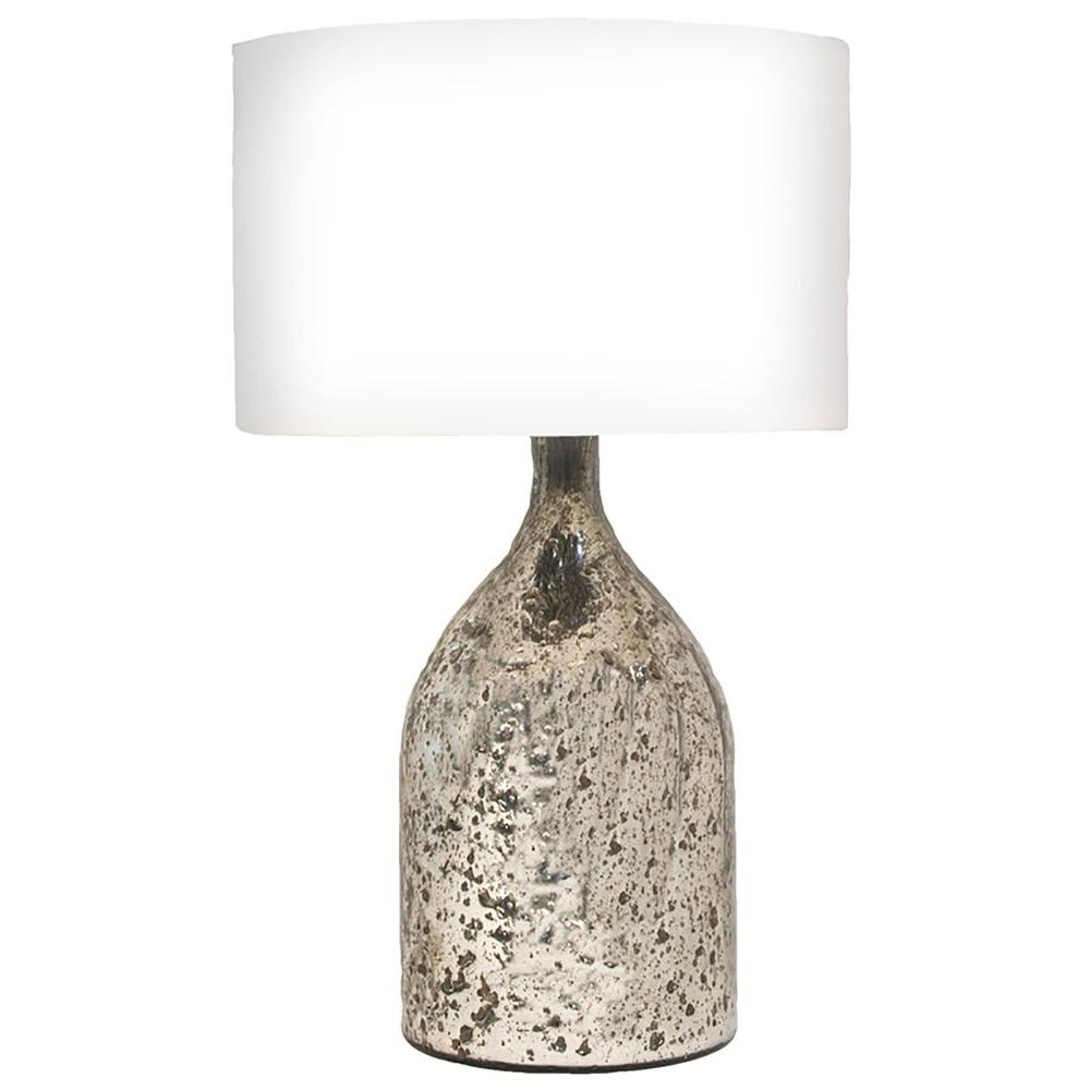 Renwil Amberlea 23 in. Antique Silver Table Lamp