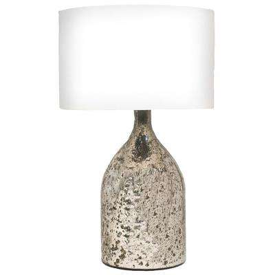 Amberlea 23 in. Antique Silver Table Lamp