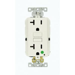 white leviton outlets receptacles mgfn2 hgw 64_300 leviton decora 20 amp hospital grade tamper resistant duplex  at edmiracle.co