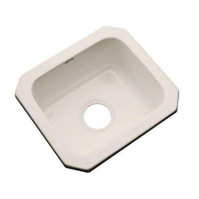 Manchester Undermount Acrylic 16 in. 0-Hole Single Bowl Entertainment Sink in Desert Bloom