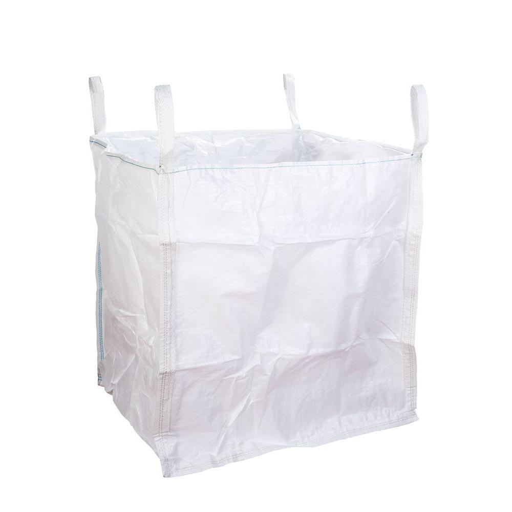FIBC 2500 lb. White Bulk Bag