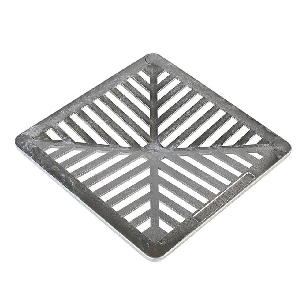 9 in. x 9 in. Aluminum Grate
