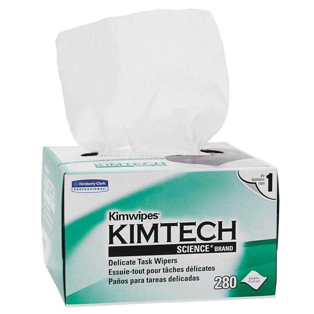 null Kimtech Science Kimwipes Delicate Task Wipes (280/Box)
