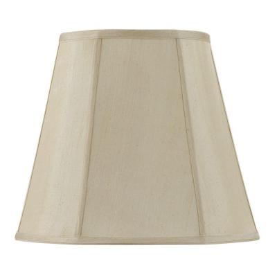 18 in. Champagne Yellow Vertical Piped Deep Empire Shade