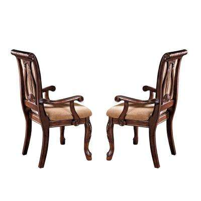 Harmony Cherry Arm Chair (Set of 2)