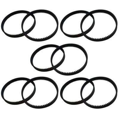 10-Pack Replacement 8 mm Vacuum Belts, Fits Dyson DC17, Compatible with Part 911710-01