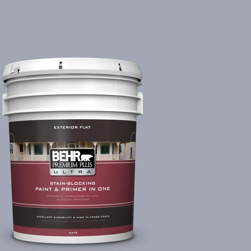 BEHR Premium Plus Ultra 5-gal. #PPU15-11 Great Falls Flat Exterior Paint