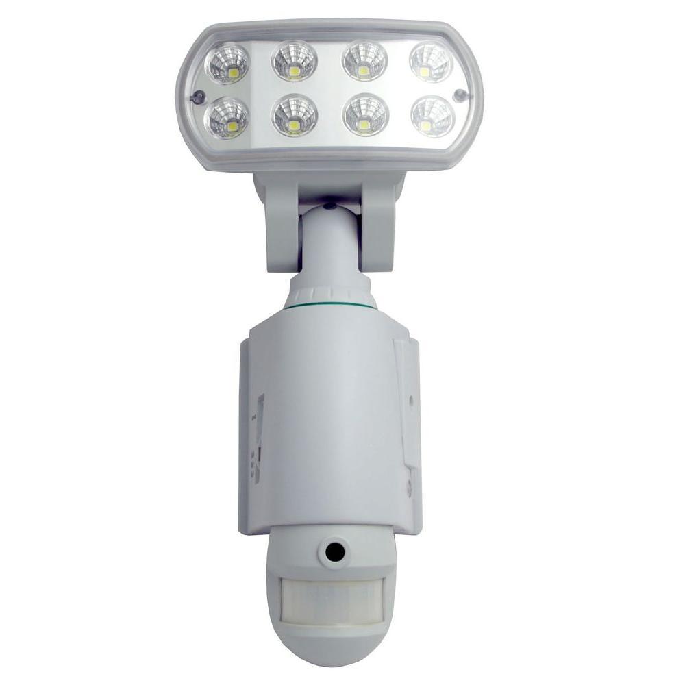 Mini Gadgets Motion Sensitive LED Outdoor Floodlight Camera DVR-DISCONTINUED