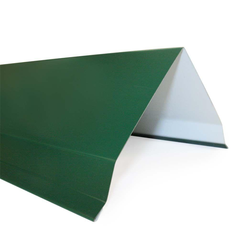 GR2 10 ft. Forest Green 26-Gauge Galvanized Gable Rake
