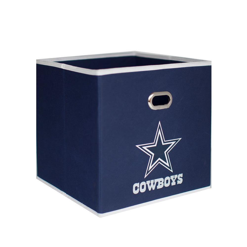 Myownersbox dallas cowboys nfl store its 10 1 2 in w x 10 for Navy bathroom bin