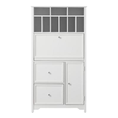 Bradstone White Secretary Desk