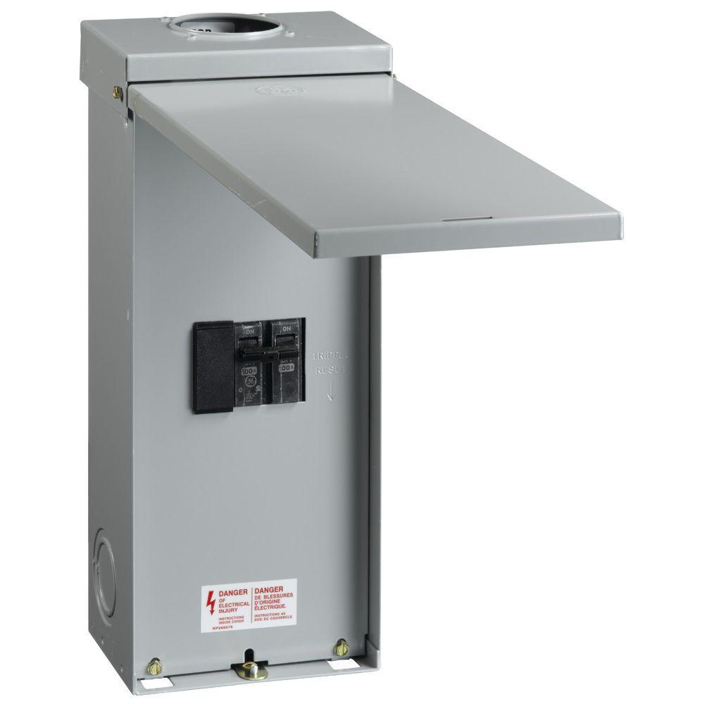 100 Amp Outdoor Circuit Breaker with Enclosure