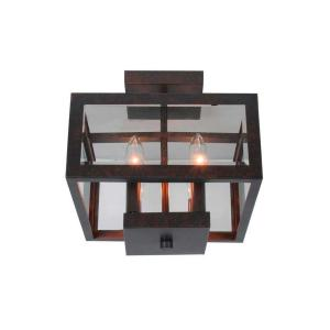 organizing a small kitchen hampton bay 11 in 4 light oxide brass semi flushmount 3788