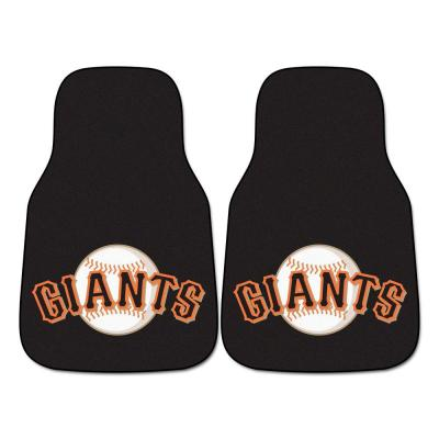 San Francisco Giants 18 in. x 27 in. 2-Piece Carpeted Car Mat Set