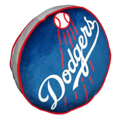 15 in. Dodgers Multi Color Polyester Cloud Standard Pillow